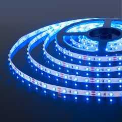 фото Светодиодная лента 2835/60Led 4,8W IP20 синий свет