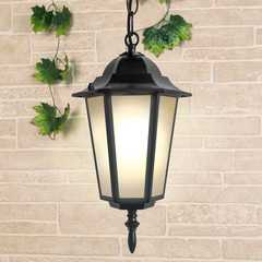 фото Уличный подвесной светильник IP44 GL 1004H черный