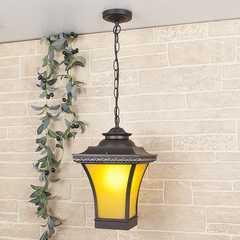 фото Libra H венге  уличный подвесной светильник IP33 GLXT-1408H