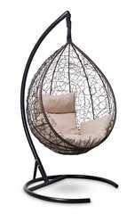 фото Подвесное кресло-кокон SEVILLA коричневое + каркас