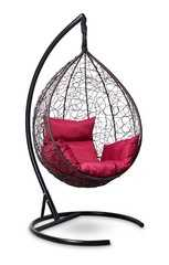 фото Подвесное кресло-кокон SEVILLA шоколад + каркас