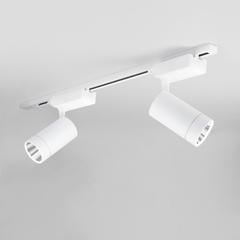 фото Трековый светодиодный светильник для однофазного шинопровода Baril Белый 40W 4200K LTB47