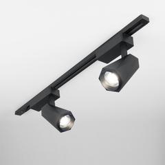 фото Трековый светодиодный светильник для однофазного шинопровода Magnum черный матовый 20W 4200K LTB46
