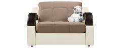 фото Кресло мягкое раскладное МАДРИД (светло-коричневое)