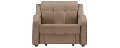 фото Кресло мягкое раскладное БАРОН (светло-коричневое)