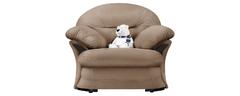 фото Кресло мягкое ЛАНКАСТЕР (светло-коричневое)