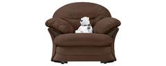 фото Кресло мягкое ЛАНКАСТЕР (темно-коричневое)