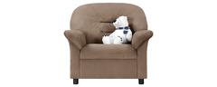 фото Кресло мягкое ЖЕНЕВА (светло-коричневое)