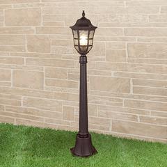 фото Dorado F кофейное золото уличный светильник на столбе IP44 GL 1013F