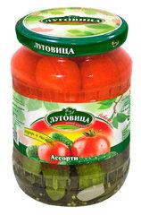 фото Ассорти (огурцы+томаты) 720 гр