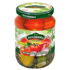фото Ассорти Белгородское (огурцы, томаты, перец) 720 мл