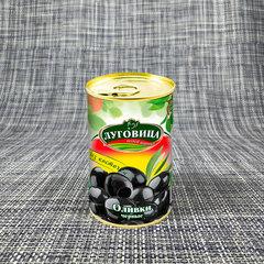 фото Оливки черные без косточки ж/б