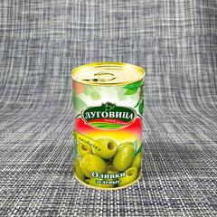 фото Оливки зеленые без косточки ж/б