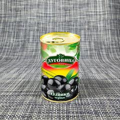 фото Оливки черные с косточкой ж/б