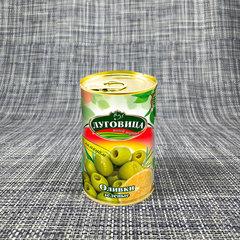 фото Оливки зеленые с лимоном ж/б
