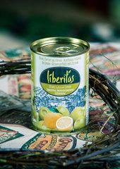 фото Оливки Liberitas фаршированные с лимоном 0.300 мл. / 280 гр.