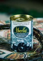 фото Оливки Liberitas черные без косточек 0.300 мл. / 280 гр.