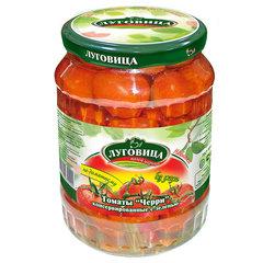 фото Томаты консервированные с зеленью в заливке 720 гр