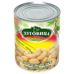 фото Фасоль белая в томатном соусе ж/б 360 гр