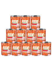 фото Фасоль Едим дома белая в томатном соусе 400 гр 12шт