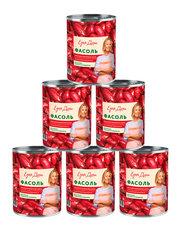 фото Фасоль Едим дома красная в томатном соусе 400 гр 6шт