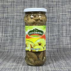 фото Грибы маслята маринованные Луговица 580 гр