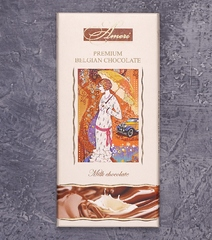 фото Шоколад Ameri Premium Belgian Chocolate. Milk chocolate