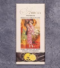 фото Шоколад Ameri Premium Belgian Chocolate. С лимоном и перцем
