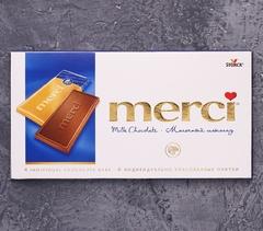 фото Молочный шоколад Merci 100г