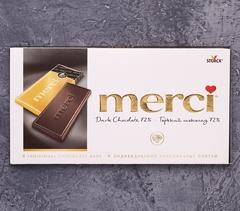 фото Горький шоколад Merci. 72%