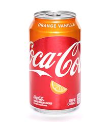 фото Coca-cola Orange Vanilla напиток газированный 355 мл