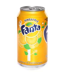 фото Fanta Pineapple напиток газированный 355 мл