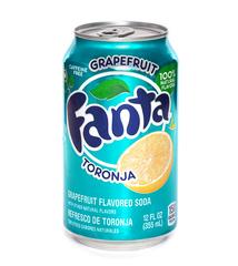 фото Fanta Grapefruit напиток газированный 355 мл