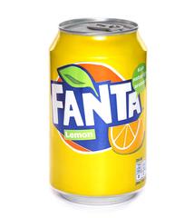 фото Fanta Lemon напиток газированный 330 мл