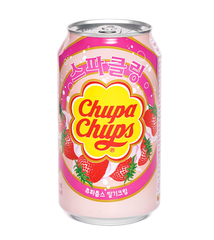 фото Chupa Chups Sparkling Strawberry Cream напиток газированный 345 мл