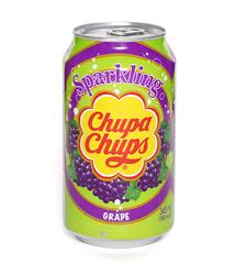 фото Chupa Chups Sparkling Grape напиток газированный 345 мл