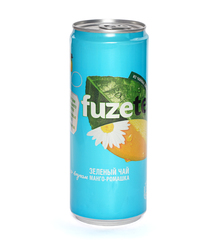 фото FuzeTea чай зеленый со вкусом Манго-Ромашка 0.33 л
