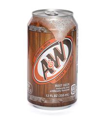 фото A&W Root Beer напиток газированный 355 мл