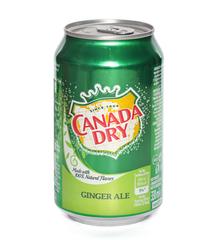 фото Canada Dry Ginger Ale напиток газированный 330 мл