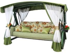 Садовые диван-качели ЭГОИСТ Зеленый