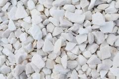 фото Щебень крошка белый  (мрамор) фр.  5-10 мм, 10-20 мм, 20-40 мм