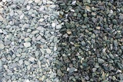 фото Щебень крошка микс (белый-зеленый) фр. 10-20 мм