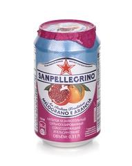 фото Газированный напиток Sanpellegrino Гранат и апельсин 0,33 л