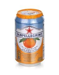 фото Газированный напиток Sanpellegrino Апельсин 0,33 л