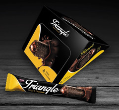 фото Воздушное кукурузное печенье Триангл  (Triangle crispy & chocolate) 0,575 гр