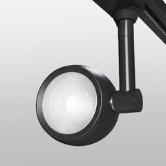 фото Трековый светодиодный светильник для однофазного шинопровода Oriol черный 12W 4200K LTB48