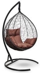 фото Подвесное кресло-кокон SEVILLA черное + каркас