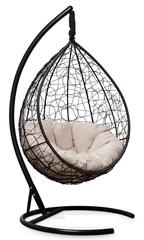 фото Подвесное кресло SEVILLA VERDE VELOUR коричневое + каркас