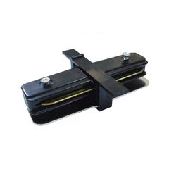 фото TRCM-1-I-BK / Коннектор прямой для однофазного встраиваемого шинопровода (черный) TRCM-1-I-BK