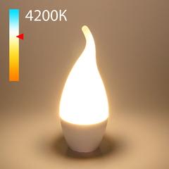 фото Светодиодная лампа Свеча на ветру СDW LED D 8W 4200K E14 BLE1432